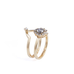 Custom Alternative Engagement Ring