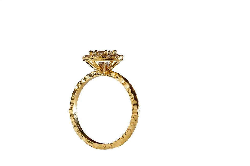 Josanne Mark custom diamond engagement r