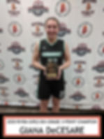 2020 RIYBA GIRLS 8TH GRADE 3-POINT CHAMP