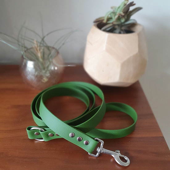 'Activewear' Leash in Olive