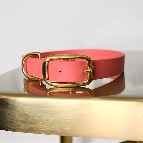 'Activewear' Collar in Coral Pink