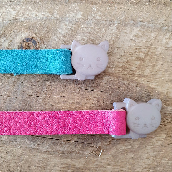 'Puss in Boots' Cat Collar - Pink