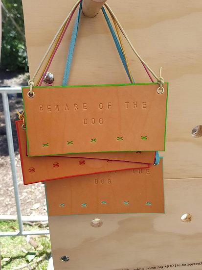 Beware Of The Dog - Door Hanger