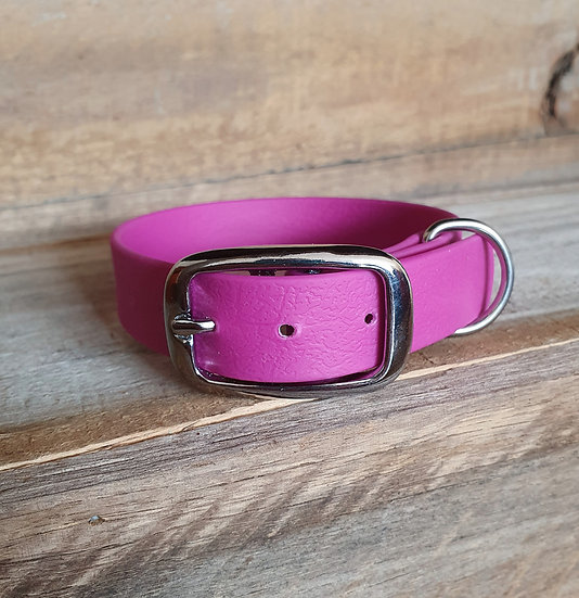 'Activewear' Collar in Fuchsia