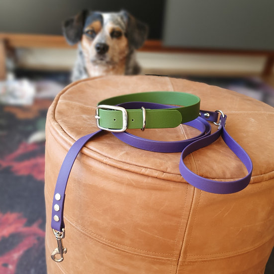'Activewear' Leash in Violet
