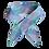 Thumbnail: Cravat - Blue + Purple Check