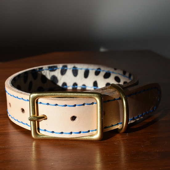 'Sexy Beast' Leather Collar