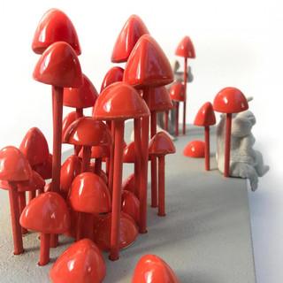 Hormigueros rojos