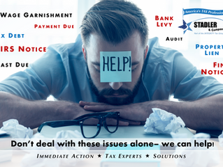 IRS Problems? We've Got you covered!