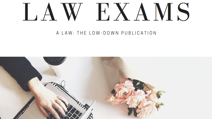 A Guide to Notetaking for Law Exams