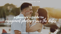 engagement photos & save the dates