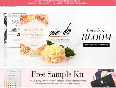 invitations feature: wedding paper divas