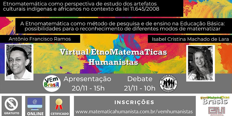 VEm Humanistas - dias 20/11 e 21/11