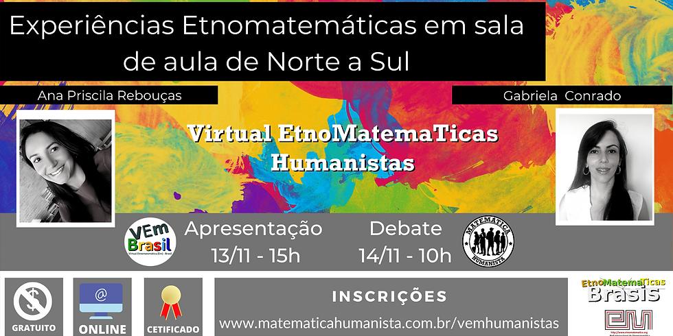 VEm Humanistas - dias 13/11 e 14/11