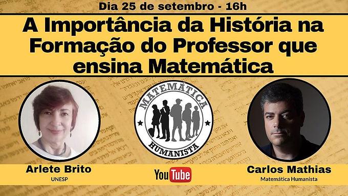 A importância da História na formação do professor que ensina Matemática