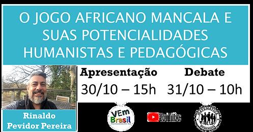 VEm HUMANISTAS - O jogo africano Mancala e suas potencialidades humanistas e pedagógicas