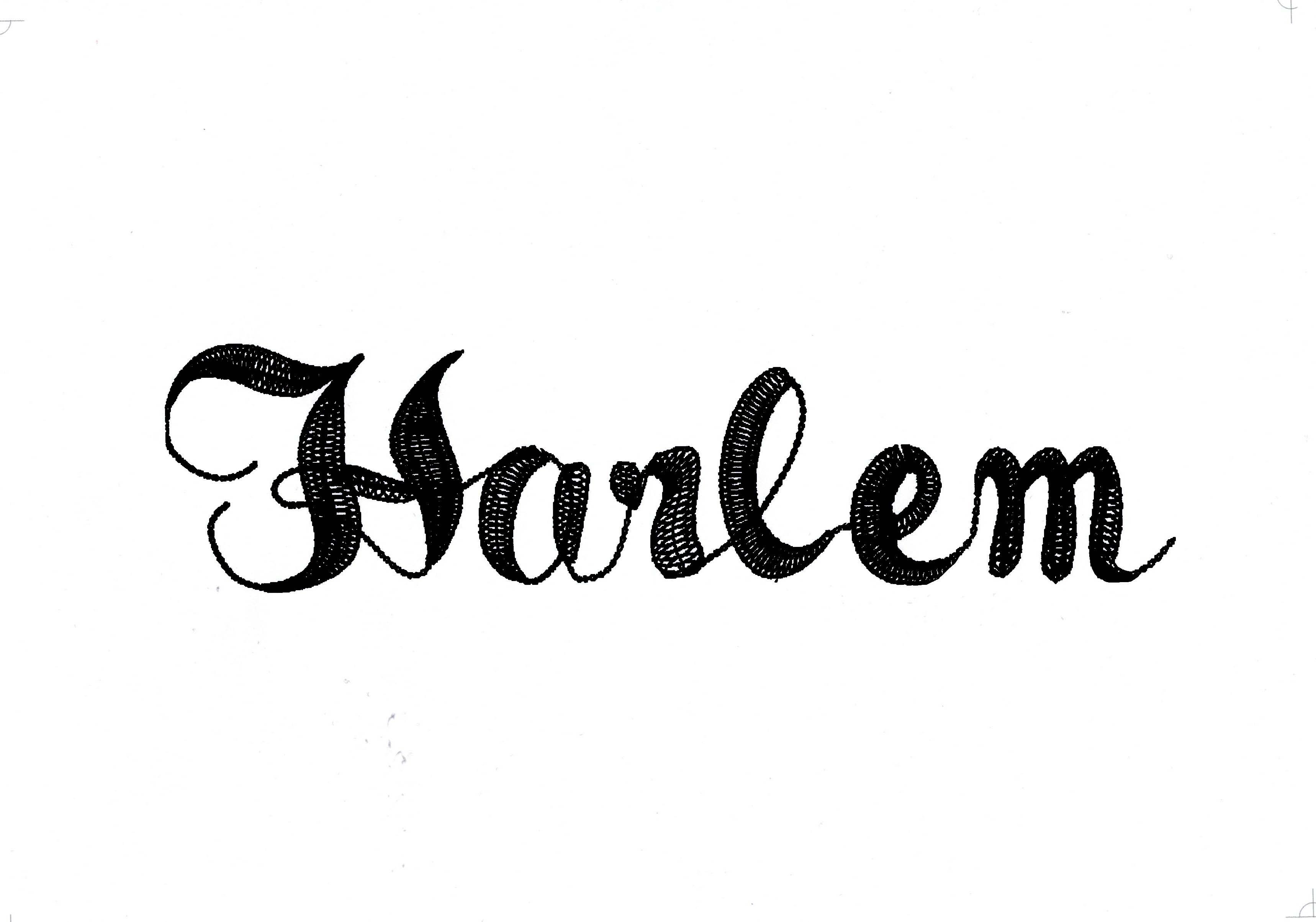 BRODERIE-HARLEM