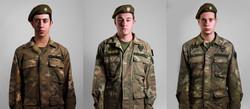 Soldier Tryptich