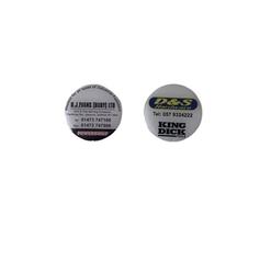 Tool Tape Measure Domed Self-adhesive Labels