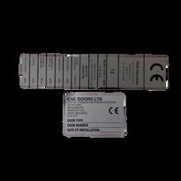 Door CE Polyester Labels