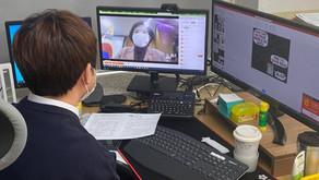 강원도교육청, 한솔초에서 '학생과 부총리의 온라인 대화' 진행
