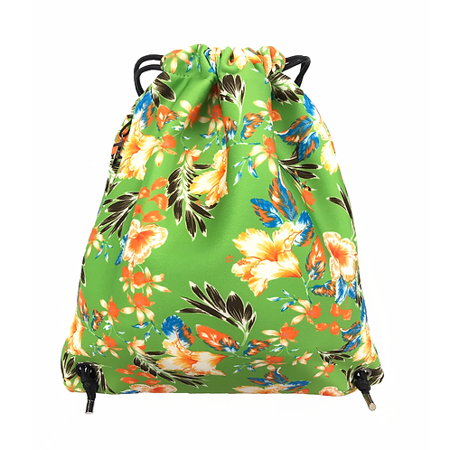 FLOWER MOOD Рюкзак в цветах зеленый