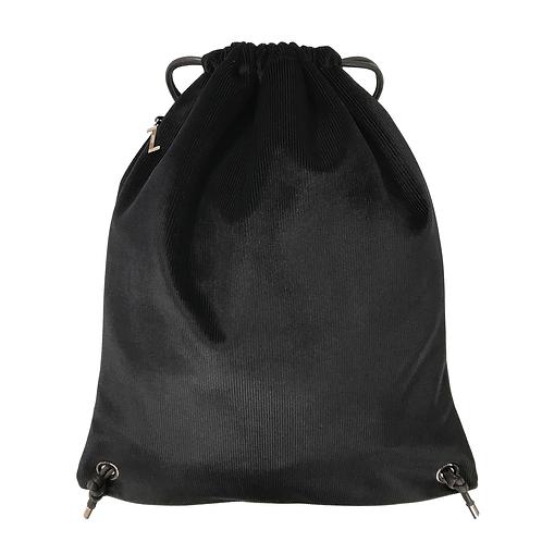 BASICO Рюкзак  черный вельвет