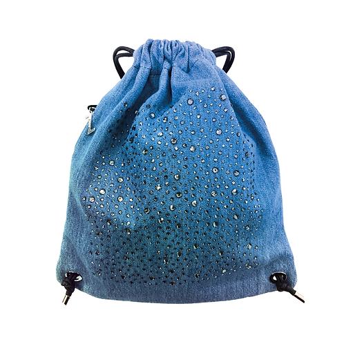 DENIM CRYSTALS Backpack