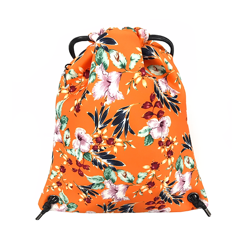 FLOWER MOOD Backpack flower arancio