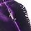 Thumbnail: VELVET CRYSTALS Backpack purple