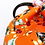 Thumbnail: FLOWER MOOD Рюкзак в цветах апельсин
