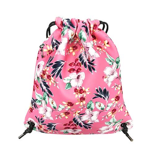FLOWER MOOD Рюкзак в цветах розовый