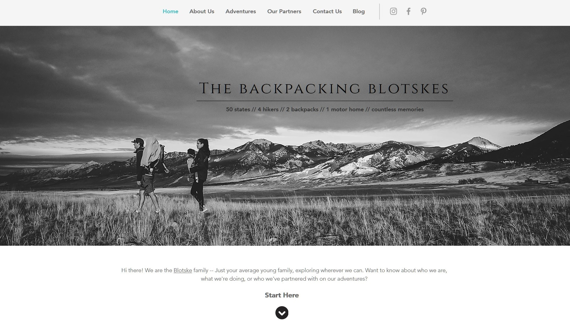 The Backpacking Blotskes