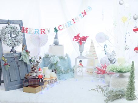 【募集】12月X'masフォトブース「Snow fairy」撮影会開催のお知らせ