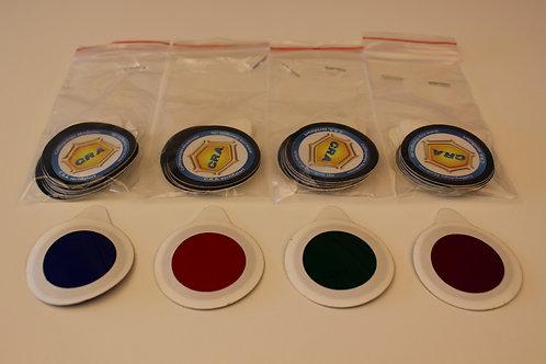 OneTimer Set (magenta,grün,rot,blau) 10St.