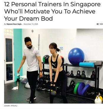Shopee - 12 Personal Trainers in Singapore