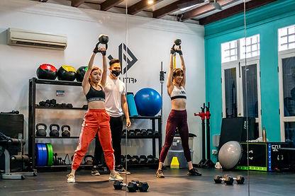 Personal Training - Hazelle & Tay Ying
