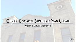 City Commission Presentation | Vision & Values