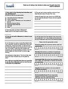 Vision & Values Survey