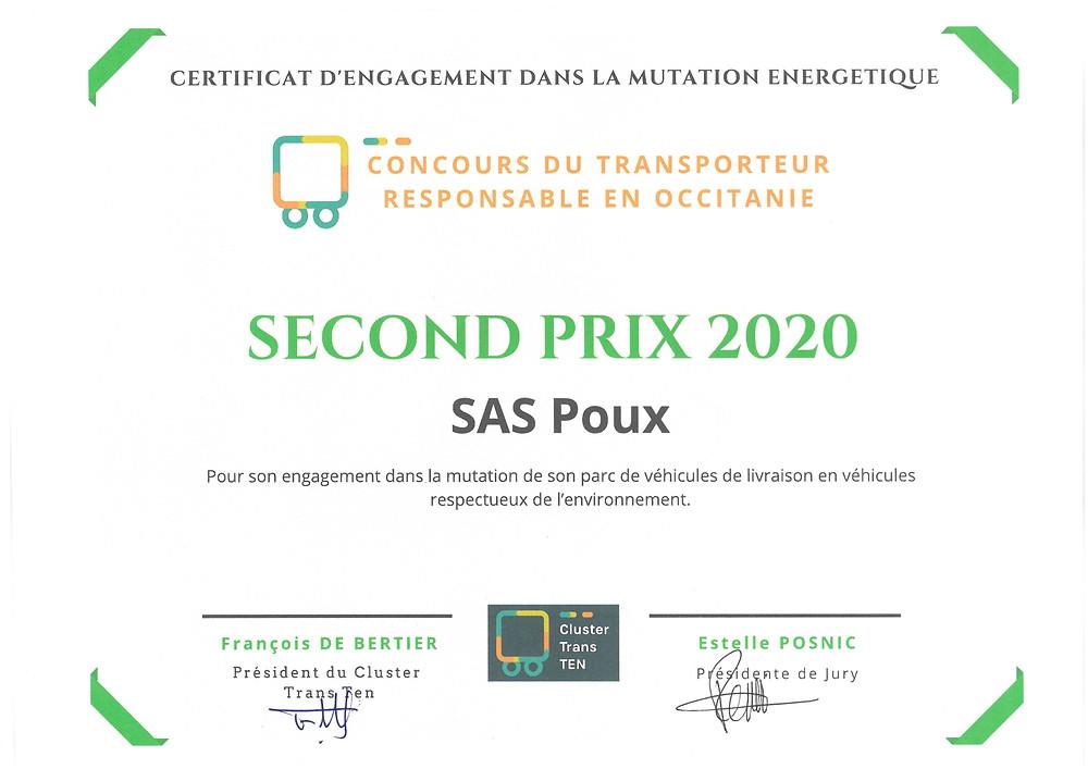 Concours du transporteur responsable en Occitanie