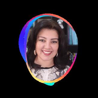 ANDREA CARDOSO   Psicóloga Certificada em Foresight Estratégico pela W Futurismo, co-fundadora da startup Futuros - Hub de  Inovação e Tecnologia para Psicólogos.  Seu propósito é conectar os psicólogos com as inovações e tecnologias, capacitando-os para contribuir e influenciar no futuro da sociedade e das relações humanas.