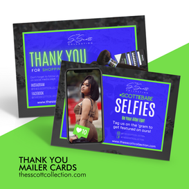 Thank You Mailer Cards