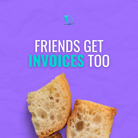 Service Bartering: Friends get invoices, too!