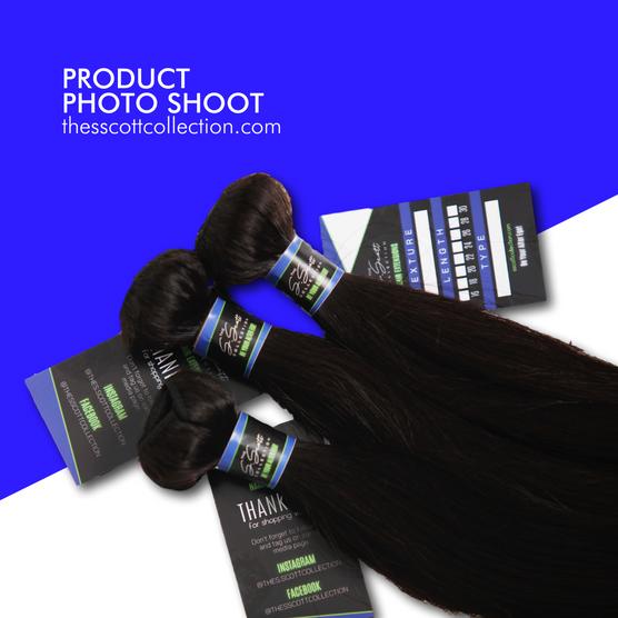 Hair Extensions and Bundles Product Photo Shoot | Mockup