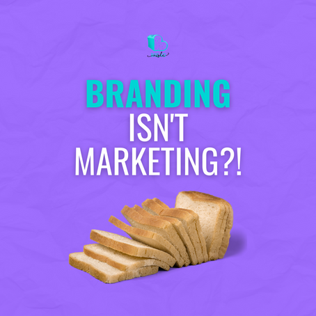 Branding isn't Marketing?!