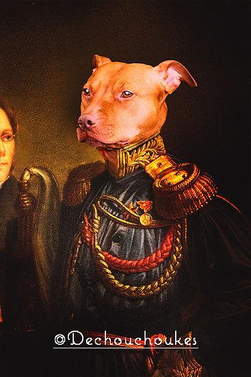 Classic Rubens Rex - Canvas