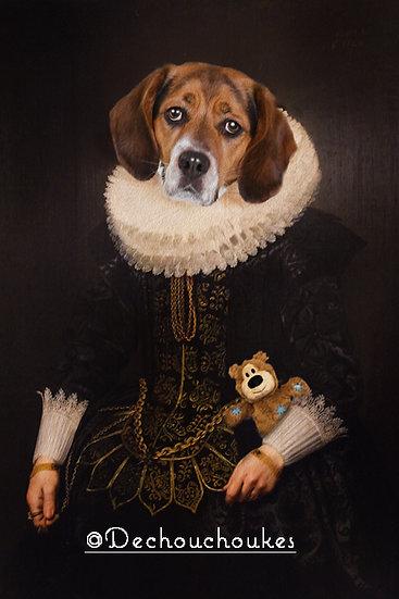 Classic Rubens - Layla