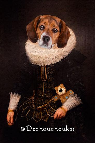 Classic Rubens Layla - Canvas