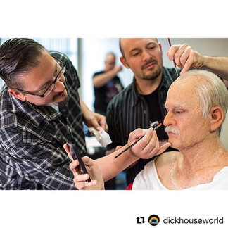 BAD GRANDPA (2013) Makeup by Stephen Prouty with Application help from Jamie Kelman, for Alterian Studios