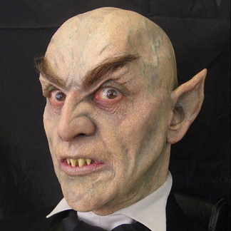 GOOSEBUMPS THE MOVIE (2015) Vampire sculpted, painted & applied by Jamie Kelman for Steve Prouty's Fusion FX